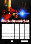 Personalised Iron Man Reward Chart (adding photo option available)